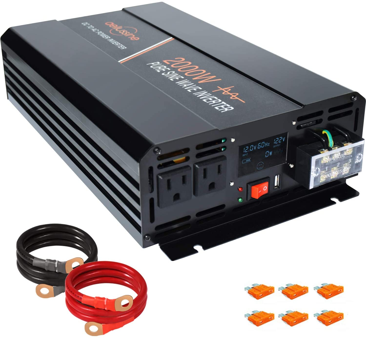 Aeliussine 2000W Power Inverter