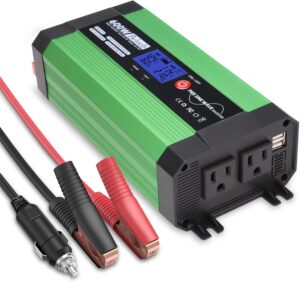 Beleeb 600W Pure Sine Wave Inverter Review - dual usb - dual AC 110V outlet