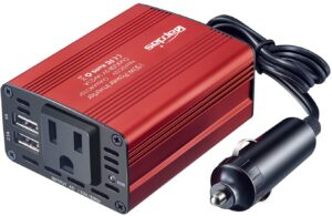 Dual USB - Bapdas 150W Car Power Inverter