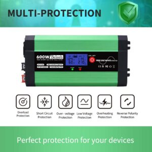 beleeb 600W power inverter - multiple protection elements