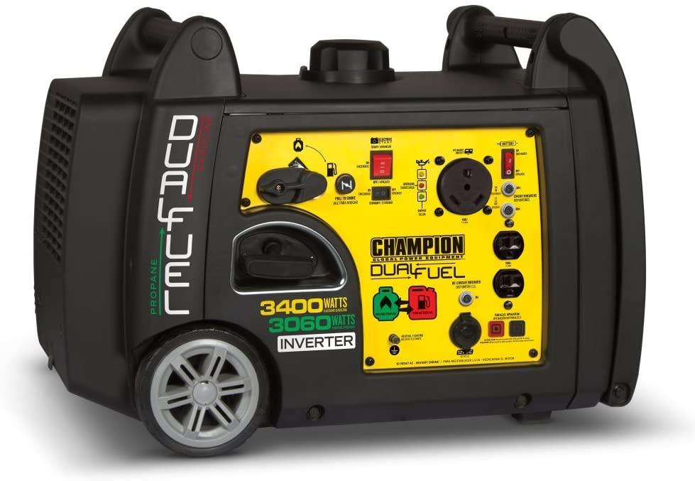 champion 3400 watt portable inverter generator
