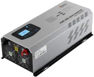AMPINVT 6000W Inverter for solar panels, homes, industrial use, large farms and others