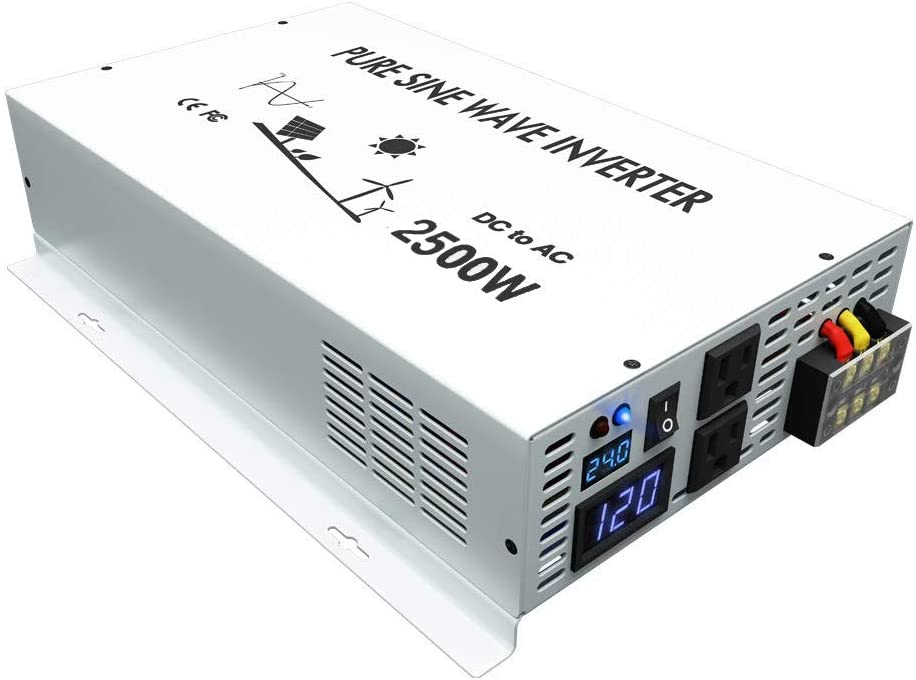 reliable solar inverter reviews - WZRELB DC to AC Converter Off Grid Pure Sine Wave Power Inverter