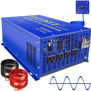 reviews text on XYZ INVT 6000-watt inverter - new brand, new model and old performance