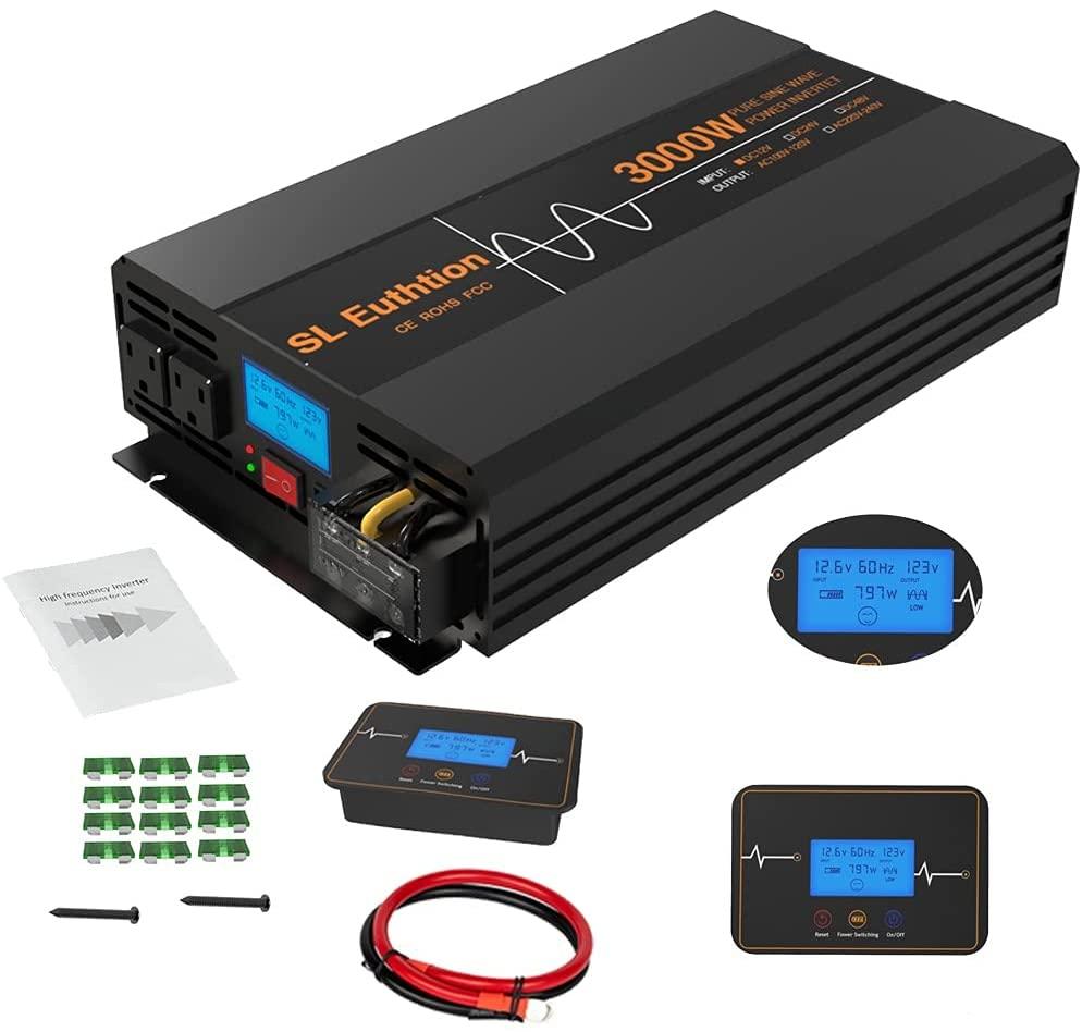 solid 3000w inverter reviews - SL Euthtion 3000W Pure Sine Wave Power Inverter