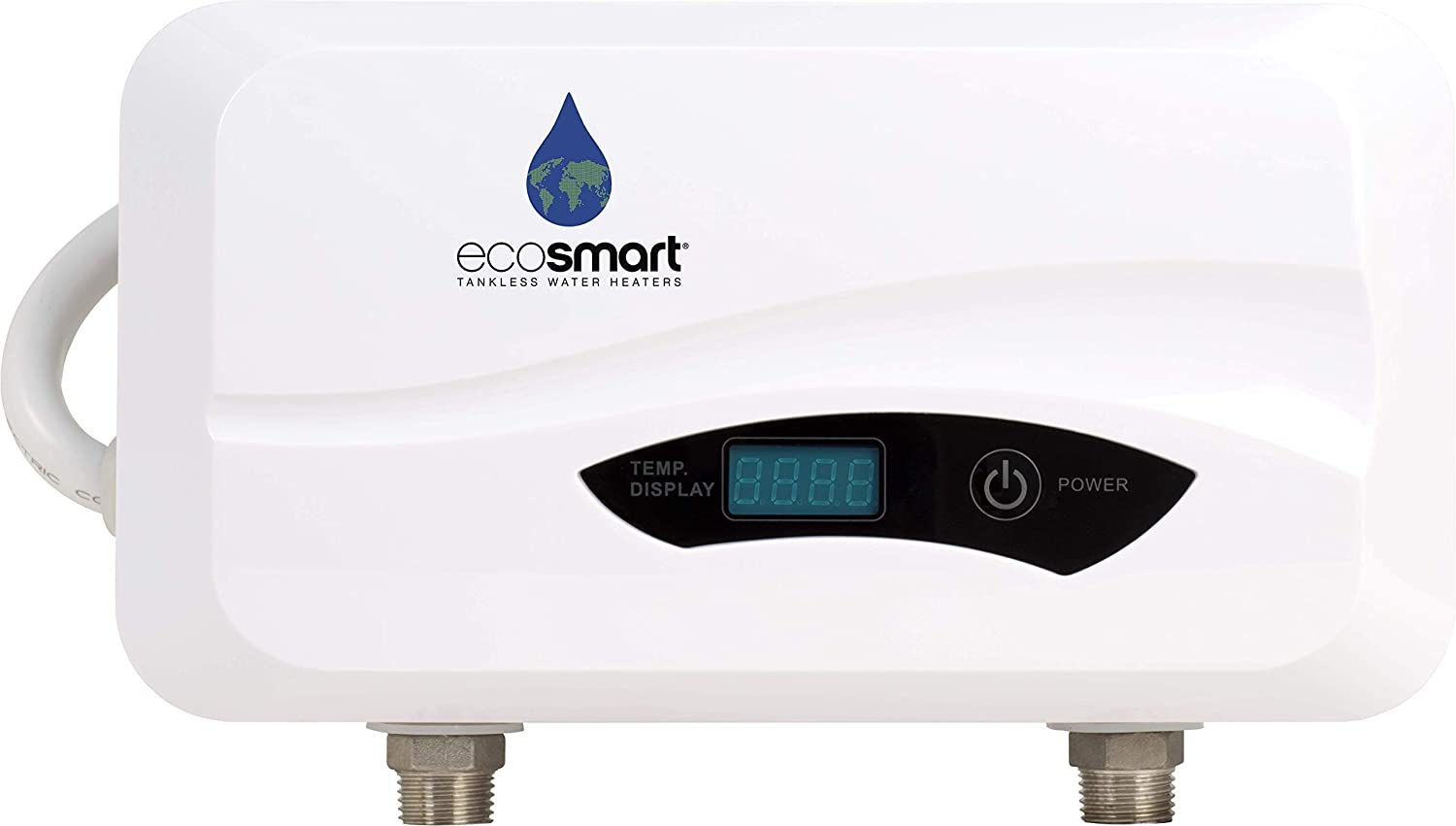"""Ecosmart POU 3.5 Point of Use Electric Tankless Water Heater, 3.5KW@120-Volt, 7"""" x 11"""" x 3"""""""