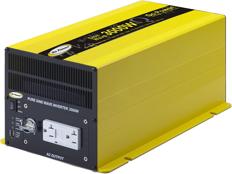 Go Power! GP-SW3000-12 3000-Watt Pure Sine Wave Inverter