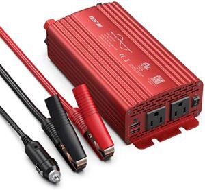 BESTEK 500W Pure Sine Wave Power Inverter reviews
