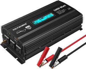 12V VoltWorks 1000W Pure Sine Wave Power Inverter