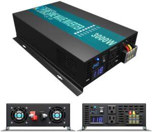 WZRELB 24V 3000 Watts Pure Sine Wave Power Inverter